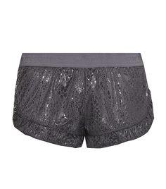 Stella McCartney Adidas snakeskin print running shorts. £49.95