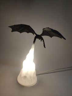 3D Dragon Flame Lamp – Game Of Lamps