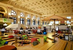 How coworking spaces revive historical buildings (Picture: CoCo Minneapolis) http://www.deskmag.com/en/coworking-spaces-a-new-lease-on-life-for-historical-architecture