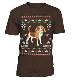 Beagle Ugly Christmas Sweater T Shirts