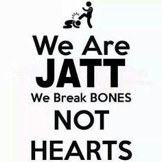JaTt mood✌ Sikh Quotes, Desi Quotes, Punjabi Quotes, Hindi Quotes, Quotations, Funny Attitude Quotes, Attitude Quotes For Girls, True Quotes, Motivational Quotes