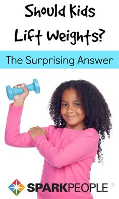 There is growing evidence that strength training is very beneficial for children and could be an important part of their exercise routine. via @SparkPeople