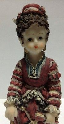 vintage asian Collectable figurine / Figurine Asiatique De Collection Ancienne                          $21.86