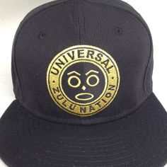 Limited Gold edition Zulu nation Official Bronx NYC / NEW YORK CITY #zulunation #zulu #uzn #hiphop #nyc #snapbacks