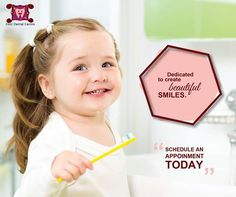 We are committed to providing our kids with the highest quality and most comprehensive dental care available and also build a strong and compassionate relationship with them based on TENDER, LOVE and CARE. #KidsDentistry #PediatricDentistry #KidzDentalCentre