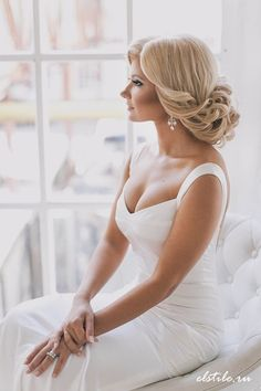 25 Most Beautiful Updo Wedding Hairstyles to Inspire You   http://www.deerpearlflowers.com/25-most-beautiful-updo-wedding-hairstyles-to-inspire-you/