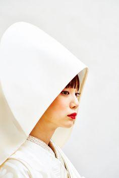 綿帽子 Traditional Wedding Attire, Wedding Kimono, Traditional Kimono, Summer Kimono, Wedding Hairstyles, Wedding Photos, Hair Makeup, Japanese, Colours