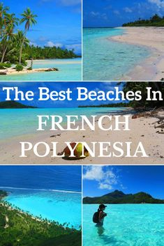 The Best Beaches In French Polynesia Fiji Islands, Cook Islands, Hiva Oa, Tahiti French Polynesia, Pink Sand Beach, Kauai Hawaii, Beaches In The World, Italy Vacation, South Pacific