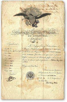 Image of American passport