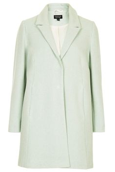 Topshop Textured Swing Coat