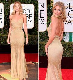 vestido-de-festa-madrinha-dourado-versace-rosie-huntington-whiteley