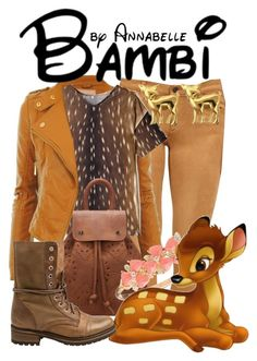"""""""Bambi"""" by annabelle-95 ❤ liked on Polyvore featuring Joe's Jeans, Carven, Anne Klein and Steve Madden"""