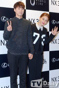 Tablo & Kang Hye Jung @ 141014 Lexus NX URBAN LIVE Concert!
