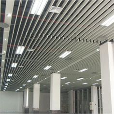 Best Quality Aluminum Grille Grid Ceiling Decorative Ceiling Types of Suspended Ceiling Grid - FONNOV Decorative Wall Panels, 3d Wall Panels, Wood Panel Walls, Decorative Tile, Metal Ceiling Tiles, Ceiling Grid, Baffle Ceiling, Building Construction Materials, Tile Suppliers