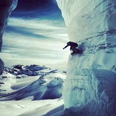 ice wall. slope life