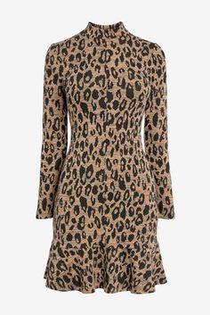 Buy Whistles Animal Jersey Flippy Dress from the Next UK online shop Whistles, Cool Names, Next Uk, Uk Online, Fascinator, Branding Design, Label, Animal, Stuff To Buy