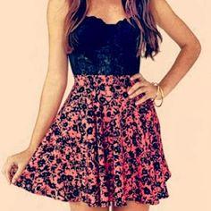 Cute dresses for girls :) || More Fashion at www.misskady.com ||