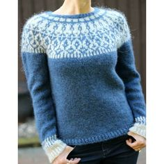 Jumpers For Women, Sweaters For Women, Knitting Daily, Icelandic Sweaters, Lang Yarns, Bind Off, Dress Gloves, Paintbox Yarn, Yarn Brands