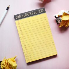 legal pad notepad