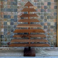 barnwood christmas trees | Found on obaz.com