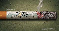 Creative Ads: Anti-Smoking Campaigns (16 pics) - My Modern Met