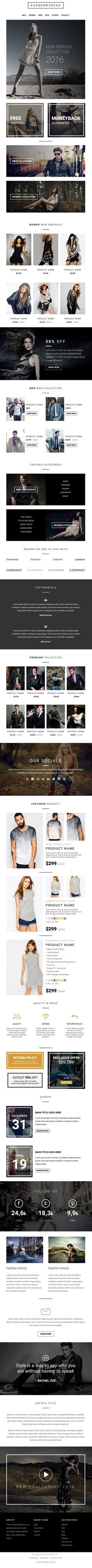 Return - Multipurpose Responsive Email Template + Stampready ...