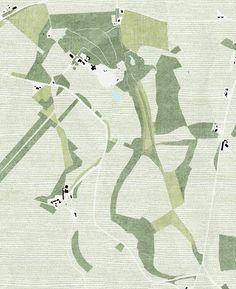 "visicert: "" hugh strange architects | hadspen estate | site plan """