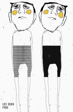 les deux fous, 2014   |    Linda Vachon
