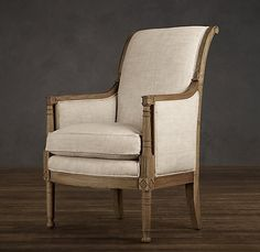 Directoire Bergére Chair | Chairs | Restoration Hardware