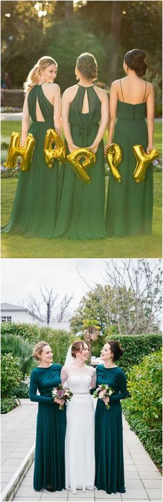 Greenery bridesmaid dress ideas#weddings #dresses #weddingideas #bridesmaids ❤️ http://www.deerpearlflowers.com/bridesmaid-dress-trends-for-2018/