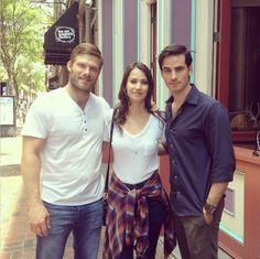 Colin O'Donoghue, Kristen Gutoskie and Chris Carmack - The Dust Storm