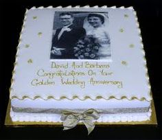 50th wedding anniversary cakes - Google Search