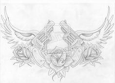 Tattoo gun Illustrations   notes tattoo tattoo machine by soundscream cool tattoo guns drawings