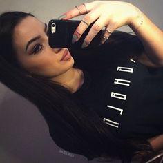 beauty girl hair lips fashion style
