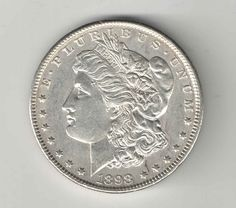 1898 Morgan Silver Dollar $1.00 Coin United States - Key Date - You Grade It!
