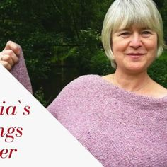 Tutorial – Kellerfalte für Trachtenjacken – Claudia Wersing Blog Knit Crochet, Knitting Ideas, Blog, Basement, Handarbeit, Breien, Ganchillo, Blogging
