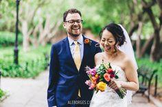 Fotografia Wedding | Jing and Adam | Conservatory Garden - Central Park | New York City - Fotos por Ale Borges