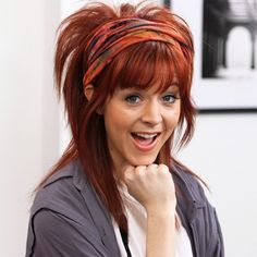 Lindsey Stirling, I love her too. Lindsey Stirling Style, Best Violinist, Grunge Hair, Queen, Hairdresser, Redheads, Beauty Women, Cool Hairstyles, Hairstyle Ideas