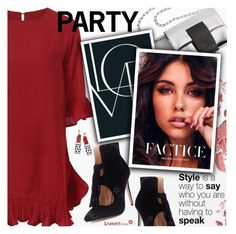 """""""Party Style"""" by pokadoll ❤ liked on Polyvore featuring Chanel, polyvoreeditorial and polyvoreset"""