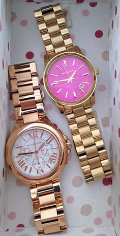 Michael Kors watches  .