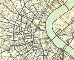 BORDEAUX Canvas Print France Vintage map Bordèu by NatalyBorichArt