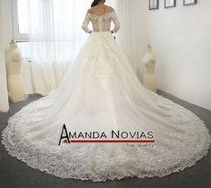 2016 nova chegada do vestido de casamento dois em um vestido de noiva
