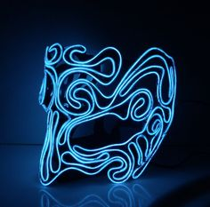 Foam EL Wire Mask, Elf