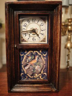 Dollhouse Miniature Clock Hands Make your own clocks 1:12 Scale Brass