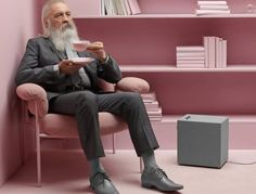 Stammen and Baggen, the two connected wireless speakers...