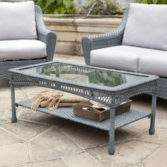 Palazetto Arbor All Weather Wicker Coffee Table