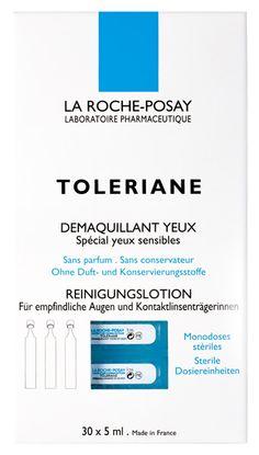 Toleriane Eye make-up remover unidoses