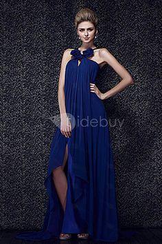Stunning A-line Floor-length Halter Dasha's Evening Dress