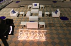 Greek Fest Rental Lighting Furniture Lounge Seating Event Sofas