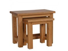 CH Furniture Normandy S/2 Nest Table £252.70